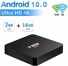 WFGZQ Android 10.0 TV-Box, [2G + 16G] Media-Player