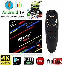 WFGZQ Android 8.1 Voice-TV-Box [4 GB RAM + 64 GB