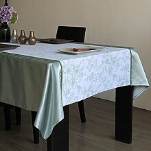 WFLJL einfache Dekoration Tischdecke aus Baumwolle/Rechteck Abdeckung Tuch 140 * 180 cm