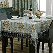 WFLJL einfache Dekoration Tischdecke aus