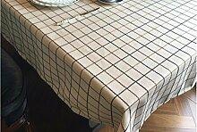 WFLJL Im europäischen Stil Baumwolle Tischdecke