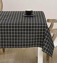 WFLJL Im europäischen Stil Küche Baumwolle Esstisch Couchtisch Dekoration Tischdecke 140*140cm