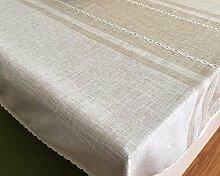 WFLJL Im europäischen Stil Küche Baumwolle Esstisch Couchtisch Dekoration Tischdecke 90*130cm