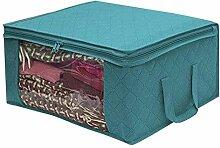 WFQJH Tragbare Container Aufbewahrungsbox Kleidung