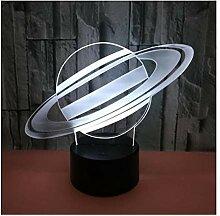 WFTD 3D Nachtlichter für Kids,7 Wechselfarben