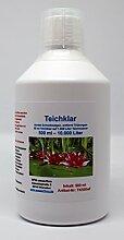 WFW wasserflora 500 ml Teichklar - gegen grünes