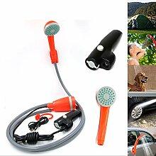 WFWPY Elektrische tragbare Außendusche mit
