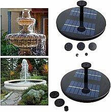 WG Solarbrunnen Schwimmender Gartenteich im Freien