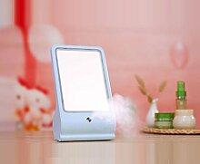WGE Creative Home Life Supplies Make-Up Spiegel Tischlampe , Days Blue