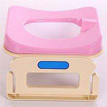 WGE Reise-Töpfchen-Tragbare Toiletten-Reise-Bewegliche Falte Für Kleinkind-Kinder , C