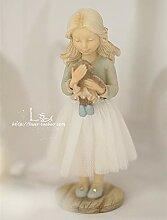 WGLG Heimdekoration Ornament Figur Geschenk Engel