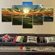 WGWNYN Leinwanddruck Malerei Wandkunst Home Decor