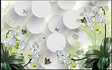 WH-PORP 3D tapete Clivia Ornament Tv Wall