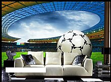 WH-PORP 3D tapete Sports Football Murals For Sofa