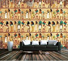 WH-PORP 3D Tapete Vlies Bild Ägyptischen Thema