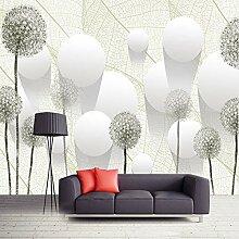 Wh-Porp Dandelion Flower Ball 3D Stereoscopic