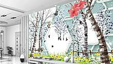 WH-PORP Farmhouse Style 3D Murals tapete For