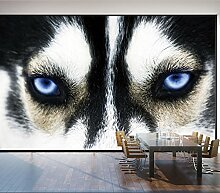 WH-PORP Mural Head Of Wolf Wall Art 3D tapete