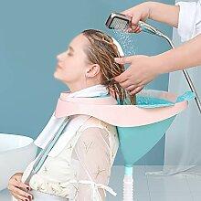 WH SHOP Zusammenklappbares Friseur Waschbecken