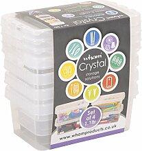 """Wham Aufbewahrungsboxen """"Crystal"""", kleine"""