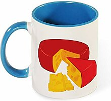 Wheel Of Cheese Travel Best Funny Coffee Mug