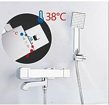 WHFDRHHS Badarmaturen Thermostat-Mischbatterie
