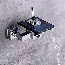 WHFDRHSLT Küchenarmatur Wasserfall Wandmontage