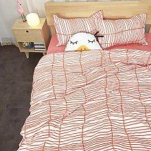 WHICH Umbrella three Bettwäsche Set Flamingo