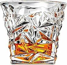 Whiskey Gläser-Set 6-PREMIUM Diamant Glas