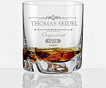 Whisky Becher mit Gravur *Thomas Seidel*