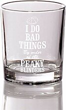 Whisky-Glas I Do Bad Things Peaky Blinders