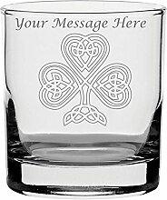 Whisky Glas mit Gravur personalisierbar Irish