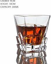 Whisky-Weinglas, bleifrei, hohe Kapazität,