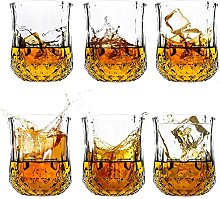 Whiskygläser 6er Set Cocktailgläser Bourbon