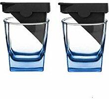Whiskyglas Personalisiert Gravur Square Iceberg
