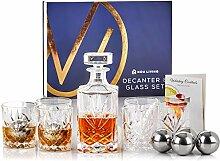 Whiskykaraffe und Glas-Set fein Decanter & Glass