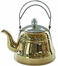 Whistling Tea Kettle - Moderne Edelstahl-Teekanne