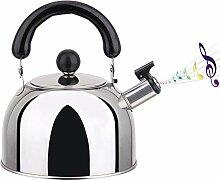 Whistling Whistling Tea Kettle Edelstahl-Teekanne
