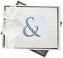WHITE COTTON CARDS Alphabetics, kleinen Fotoalbum,