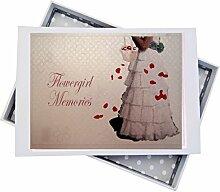 WHITE COTTON CARDS Blumenmädchen Hochzeit, Mini