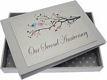 WHITE COTTON CARDS Erinnerungsalbum, Hochzeit,