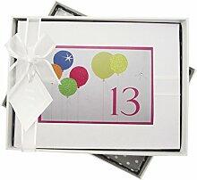 WHITE COTTON CARDS Fotoalbum, 13. Geburtstag,