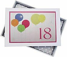 WHITE COTTON CARDS Fotoalbum für 18. Geburtstag