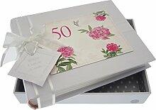 WHITE COTTON CARDS Kleines Fotoalbum 50.