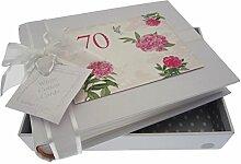 WHITE COTTON CARDS Kleines Fotoalbum 70.