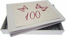 WHITE COTTON CARDS Kleines Fotoalbum für 100.