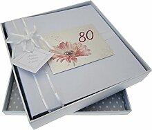 WHITE COTTON CARDS Medium Alter 80gerbra Blume