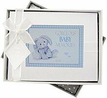WHITE COTTON CARDS New Baby Fotoalbum, klein,