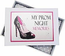 WHITE COTTON CARDS Prom Night Erinnerungen Mini