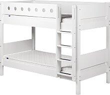 White - Etagenbett - 190 cm - Weiß